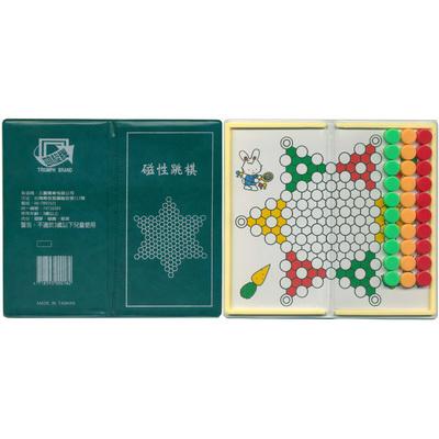 【文具通】TRIUMPH BRAND 凱旋 迷你磁性跳棋 M6010005