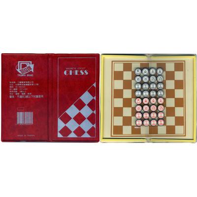 【文具通】凱旋迷你磁性西洋棋 M6010043