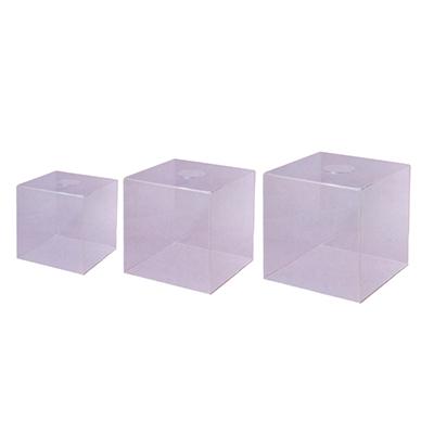 【文具通】壓克力透明摸彩箱小20x20x30cm N1010059
