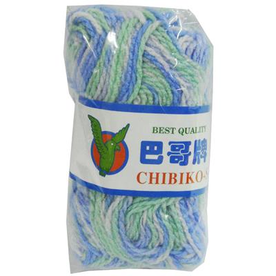 【文具通】PanShing 潘興 毛線花色 725白藍綠 N2010110