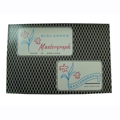【文具通】鐘花發票用複寫紙單面藍藍色原子筆用20入 P1010008