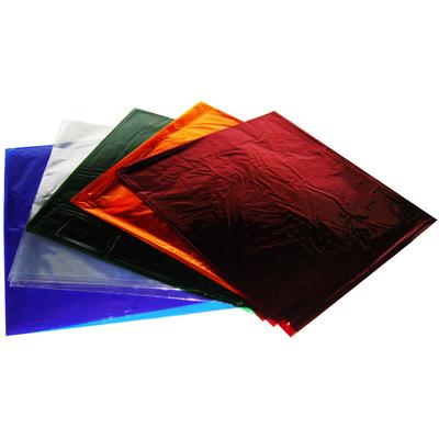 【文具通】四開 彩色 玻璃紙 黃 約45.5x51cm P1210010
