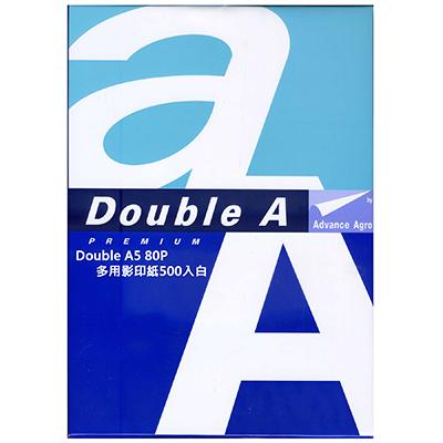 【文具通】Double A 達伯埃 影印紙/噴墨/雷射/影印 A5 80gsm 500張/2包入 白 P1410583 P1410583