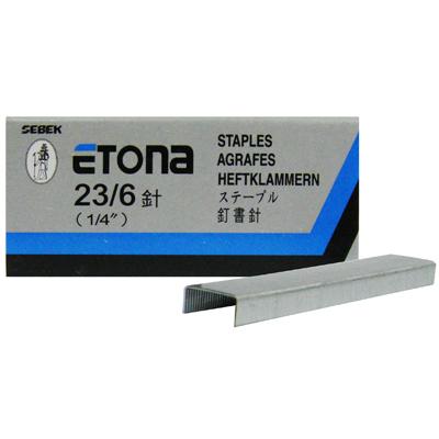 【文具通】ETONA E-23/6訂書針高6mm P2010017