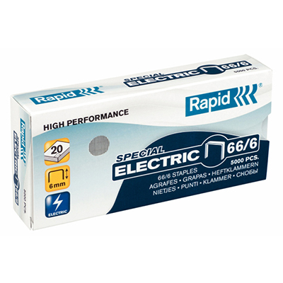 【文具通】Rapid 66-6 訂書針 5000入 P2010085