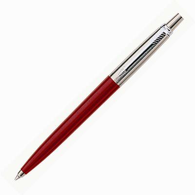 【文具通】PARKER 派克 JOTTER 記事系列-紅桿原子筆 PK-P0033340
