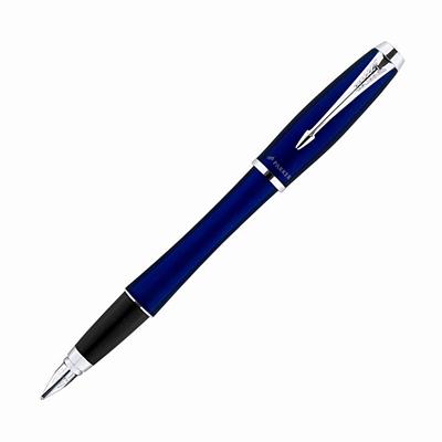 【文具通】PARKER 派克 URBAN 都會系列-霧藍白夾鋼筆/F PK-P0844810