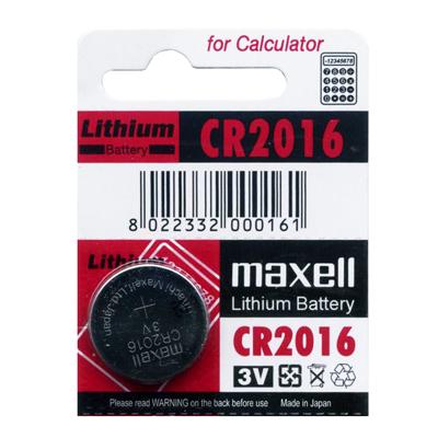 【文具通】水銀鋰電池CR2016 Q2010024