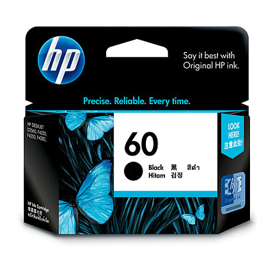 【文具通】HP CC640WA NO.60 黑 低容量 CC636 噴墨 印表機 墨水匣 R1010445
