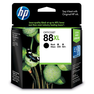 【文具通】HP C9396A墨水匣.黑 88# R1010463