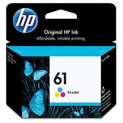 【文具通】HP CH562WA 噴墨 印表機 墨水匣 彩 61 R1010496