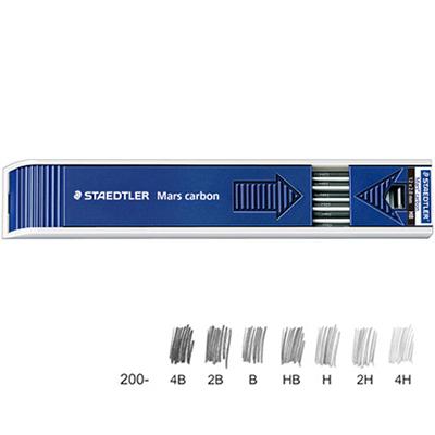 【文具通】STAEDTLER 施德樓 MS200 工程製圖筆芯 4B S1010060
