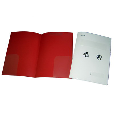 【文具通】LAN-I HUANG 連勤 LC-335 PP卷宗 普通件西式 白 T1010082
