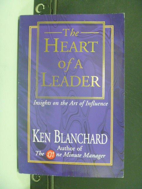【書寶二手書T8/原文小說_GHU】The Heart of a Leader_Kenneth H