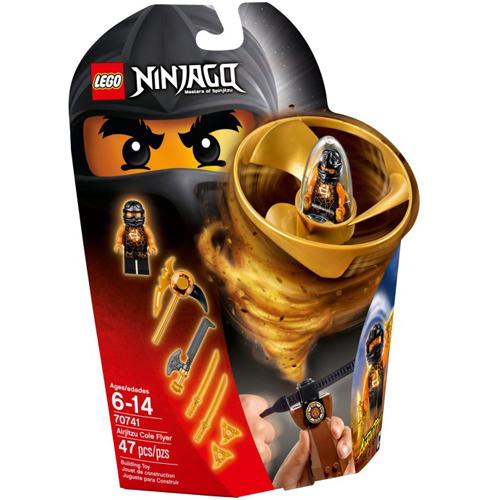 樂高積木LEGO《 LT70741 》2015 年 NINJAGO 旋風忍者系列 - 飛天旋風忍者之旋風鬥-阿剛