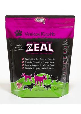 ★優逗★ZEAL 紐西蘭天然寵物食品 鹿肉配方 犬糧 1LB/1磅