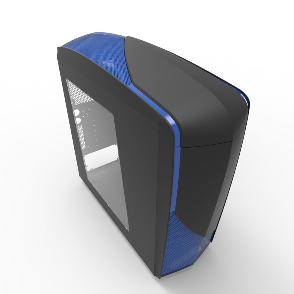 【迪特軍3C】恩傑 NZXT Phantom 240 幻影 240 電腦機殼 USB 3.0 藍或紅 翼之幻影 機殼 -亞黑藍