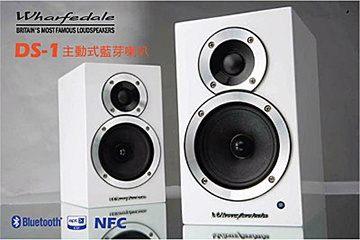 【福利出清】英國 Wharfedale DS-1 主動式鋼烤 藍芽喇叭 NFC連結