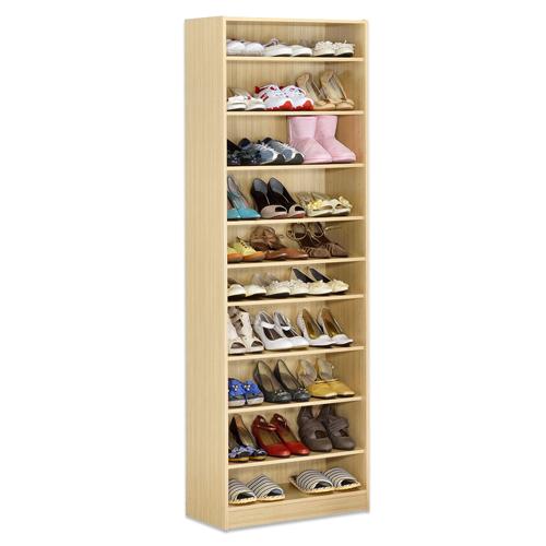 《Hopma》新白橡木色十層鞋櫃