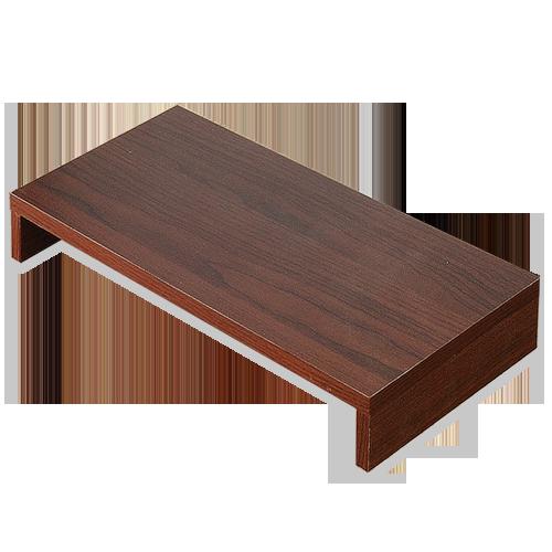 《Hopma》胡桃木色多功能螢幕桌上架