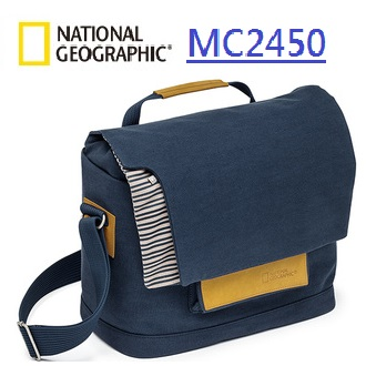 國家地理包 National Geographic  正成公司貨  Mediterranean 地中海系列  NG MC2450 - 中型郵差包