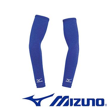 32TY6G1324(新藍紫)防曬必備彈性麻花袖套 【美津濃MIZUNO】