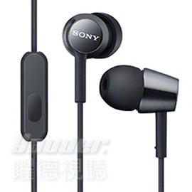 【曜德視聽】SONY MDR-EX150AP 黑色 時尚金屬 支援智慧型手機 免持通話 ★免運★送收納盒★