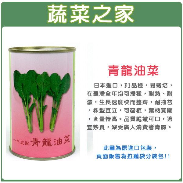 【蔬菜之家】A65.青龍油菜種子