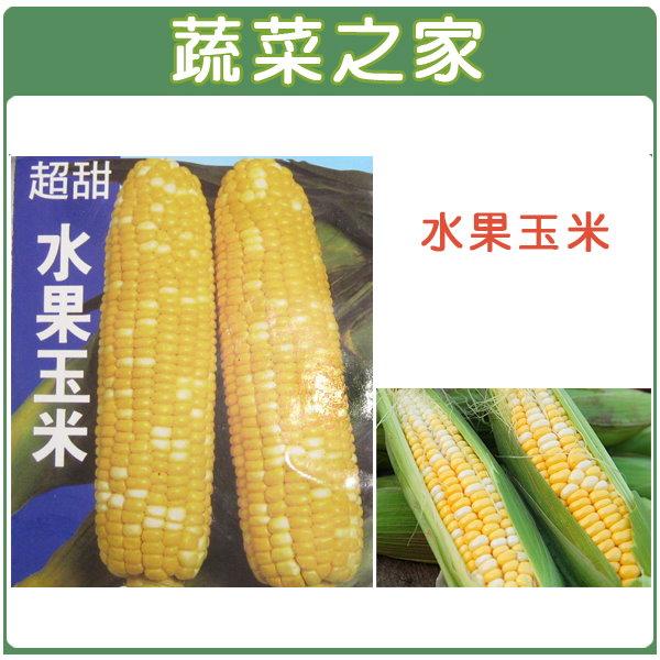 【蔬菜之家】G08.水果玉米 (黃白穗雙色玉米)種子20顆