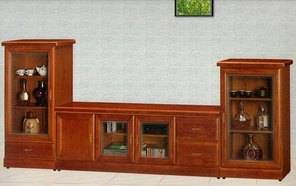 【尚品家具】614-44樟木色半實木5.3尺電視櫃矮櫃/中低櫃~另有赤楊.胡桃色