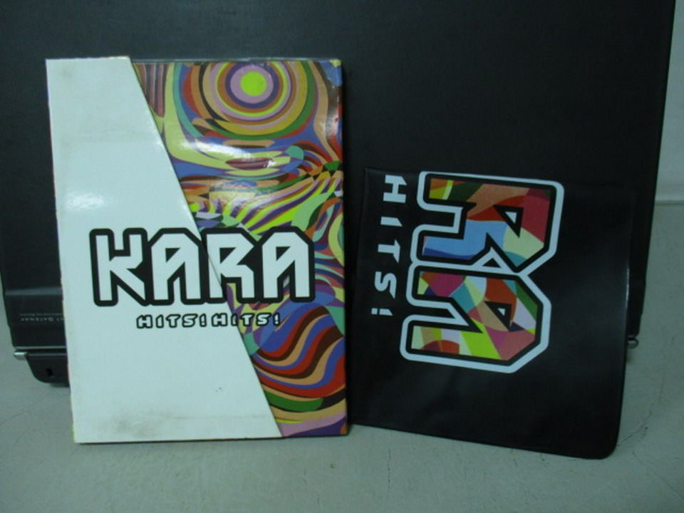 【書寶二手書T8/音樂_NSF】KARA_HITS!HITS!_附光碟