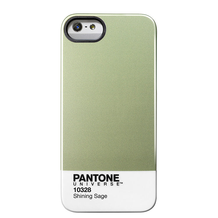 "Case Scenario PANTONE Universe Iphone5 IMD Cover ""Shining Sage""手機殼 綠"