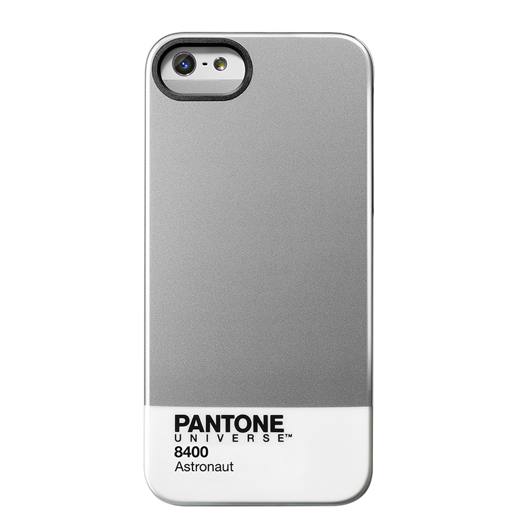 "Case Scenario PANTONE Universe Iphone5 IMD Cover ""Astronaut""手機殼 銀"