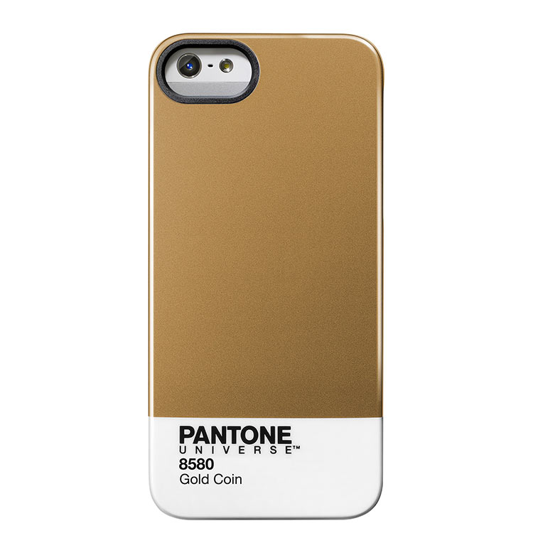 "Case Scenario PANTONE Universe Iphone5 IMD Cover ""Gold Coin""手機殼 金"