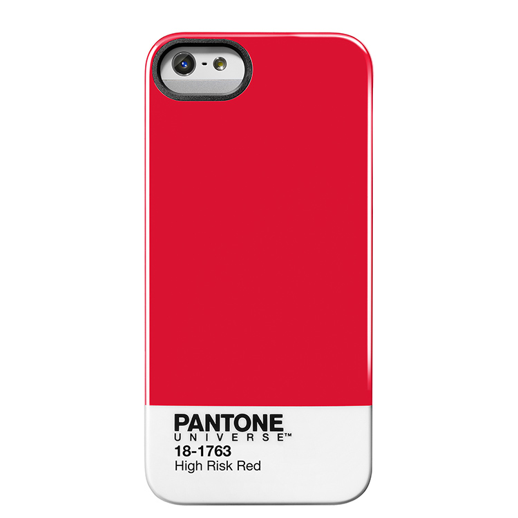 """Case Scenario PANTONE UNIVERSE iPHONE 5 IMD COVER """"HIGH RISK RED""""手機殼 紅"""