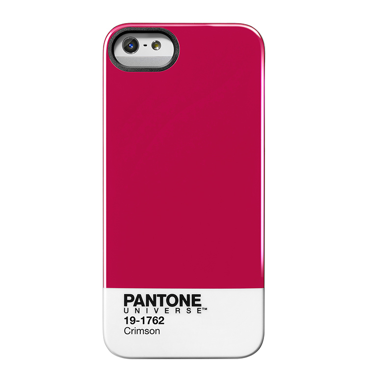 "Case Scenario PANTONE UNIVERSE iPHONE 5 IMD COVER ""CRIMSON""手機殼 紅"