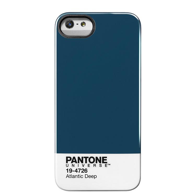 "Case Scenario PANTONE UNIVERSE iPHONE 5 IMD COVER ""ATLANTIC DEEP""手機殼 藍"