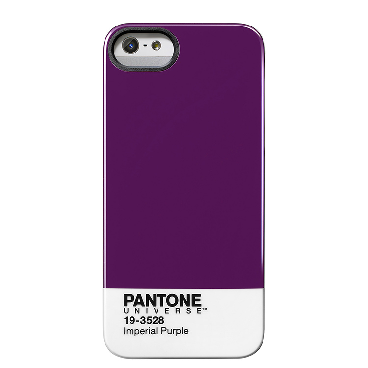 "Case Scenario PANTONE UNIVERSE iPHONE 5 IMD COVER ""IMPERIAL PURPLE""手機殼 紫"