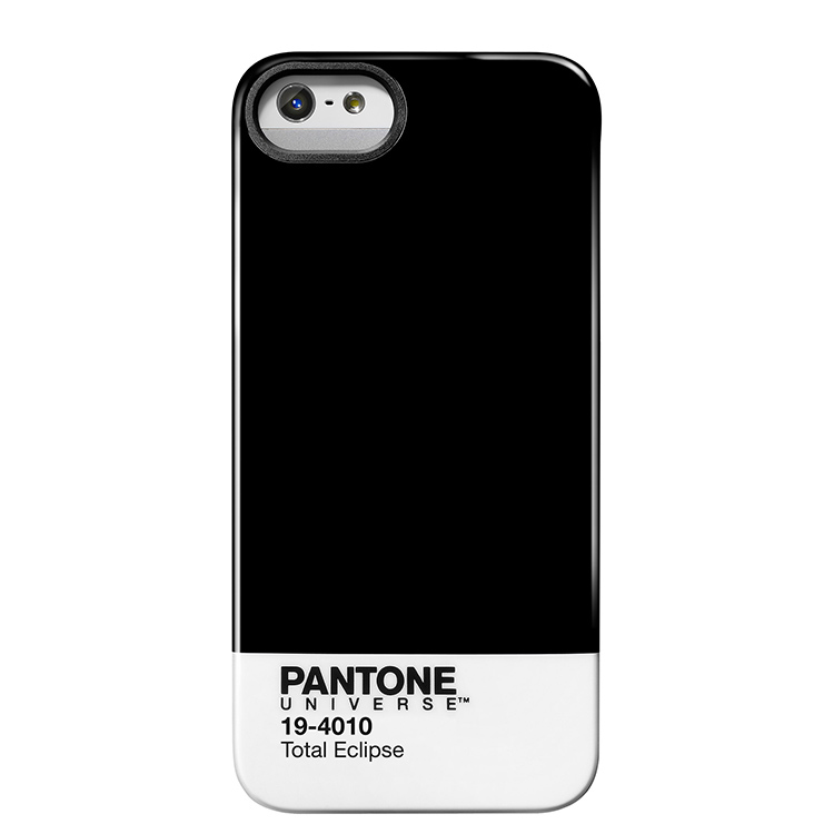 "Case Scenario PANTONE UNIVERSE iPHONE 5 IMD COVER ""TOTAL ECLIPSE""手機殼 黑"