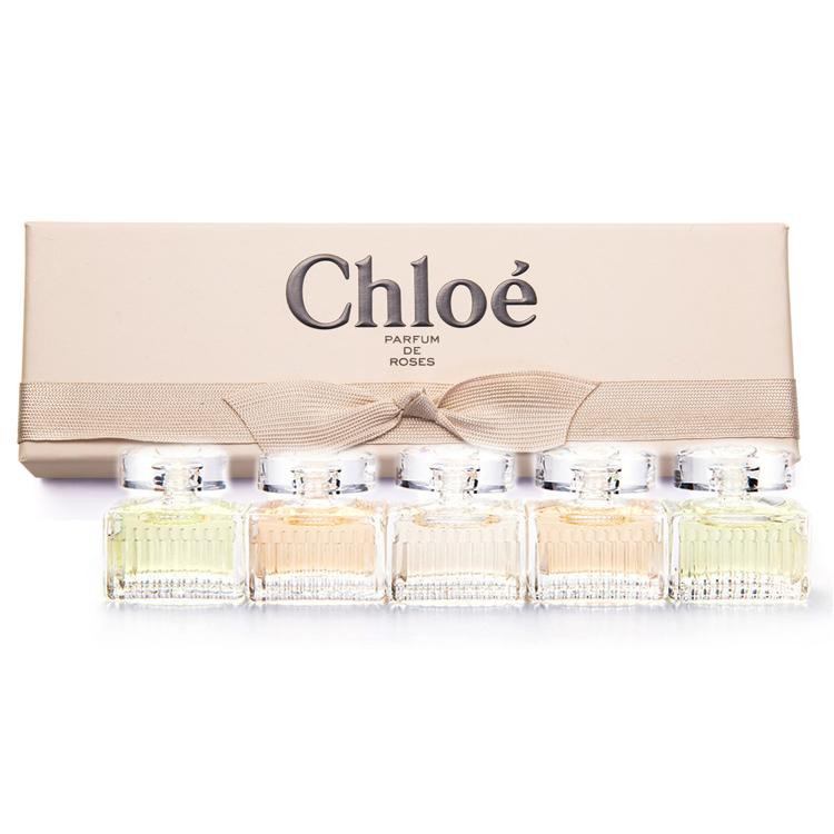 Chloe 經典同名女性淡香水 小香禮盒5入組第二代(5ml*5) -