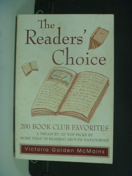 【書寶二手書T2/文學_NDW】The Readers Choice: 200 Book Club