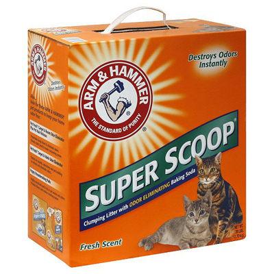 【Good Puppy】ARM&HAMMER 鐵鎚牌-清香凝結貓砂26.3磅~除臭凝結力超強的老牌貓砂