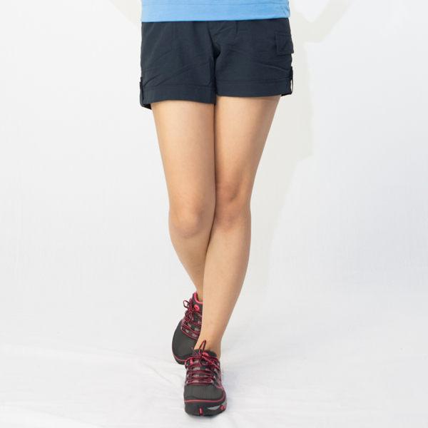 【桃源戶外】Wildland─0A01383女SUPPLEX抗UV超短褲 『深藍色』