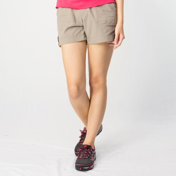 【桃源戶外】Wildland─0A01383女SUPPLEX抗UV超短褲 『黃卡其』
