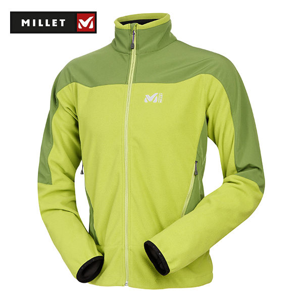 Millet 防風軟殼外套 男 MIV4260 蘋果綠