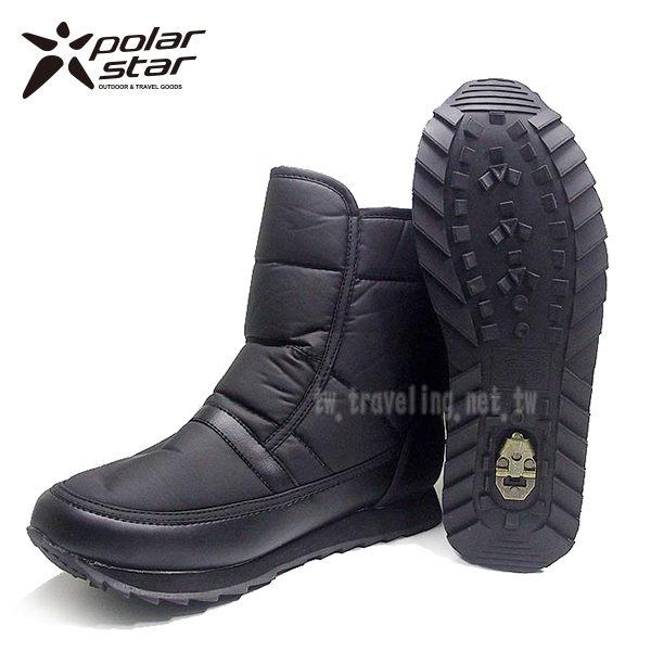 【桃源戶外】Polar Star 女保暖雪鞋│雪靴 P13620 『黑』