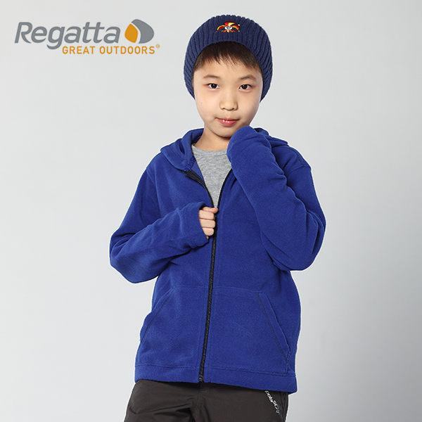 【桃源戶外】Regatta 童 刷毛│連帽│保暖外套 RKA018 『海軍藍/藍』
