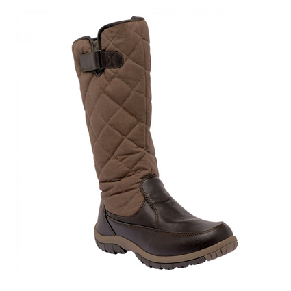 英國 Regatta 女高筒防水保暖雪鞋 丁香棕RWF324