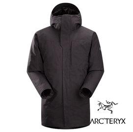 桃源戶外 ARC'TERYX 始祖鳥 Therme Parka 男 Gore-Tex 單件式羽絨外套 黑 12888