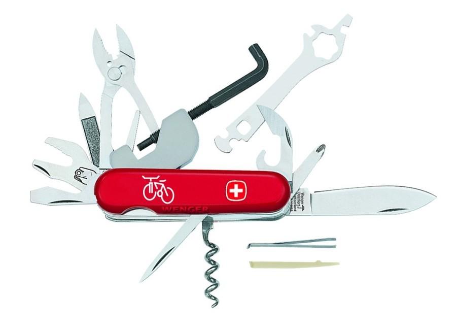WENGER BIKER 37 二十七用自行車瑞士刀 露營 旅遊 休閒 (原台中秀山莊)